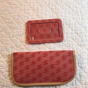 Dooney & Bourke Eyeglass Case and ID Holder